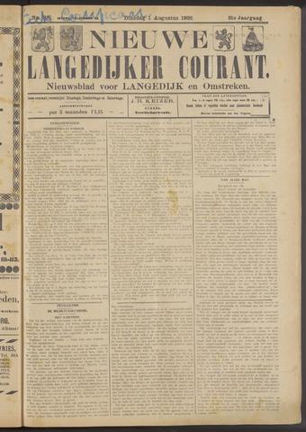 Nieuwe Langedijker Courant 1922-08-01