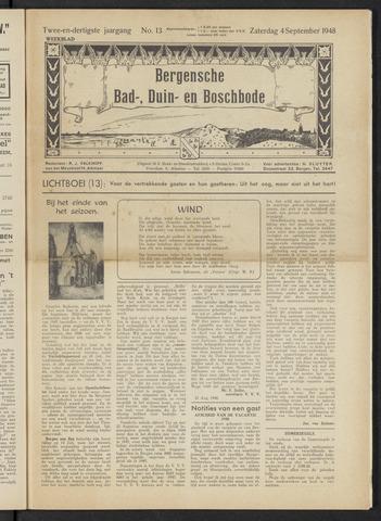 Bergensche bad-, duin- en boschbode 1948-09-04