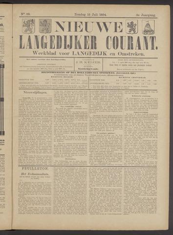 Nieuwe Langedijker Courant 1894-07-15