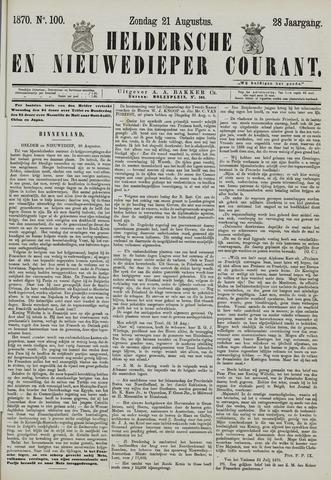 Heldersche en Nieuwedieper Courant 1870-08-21