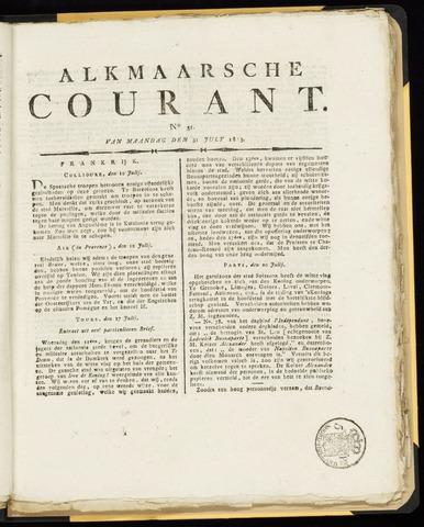 Alkmaarsche Courant 1815-07-31
