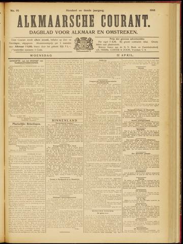 Alkmaarsche Courant 1908-04-22