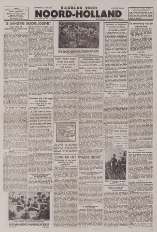 Dagblad Noord-Holland, Schager editie 1943-05-13