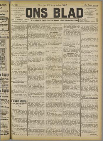 Ons Blad : katholiek nieuwsblad voor N-H 1916-08-29