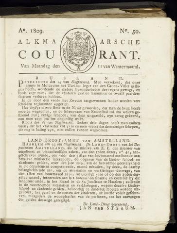 Alkmaarsche Courant 1809-12-11