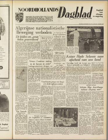 Noordhollands Dagblad : dagblad voor Alkmaar en omgeving 1954-11-08