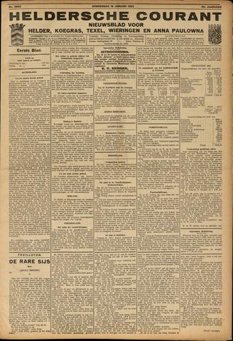 Heldersche Courant 1923-01-18