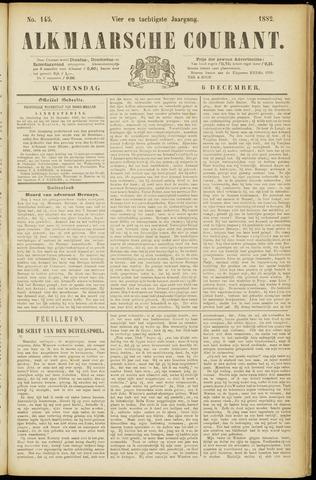 Alkmaarsche Courant 1882-12-06