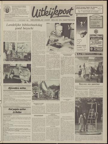 Uitkijkpost : nieuwsblad voor Heiloo e.o. 1986-09-17