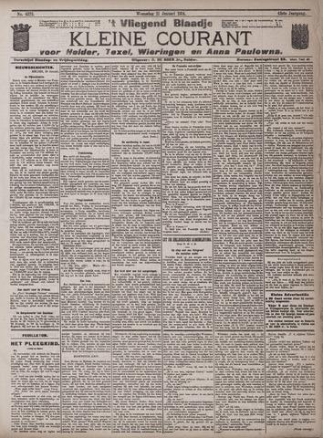 Vliegend blaadje : nieuws- en advertentiebode voor Den Helder 1914-01-21