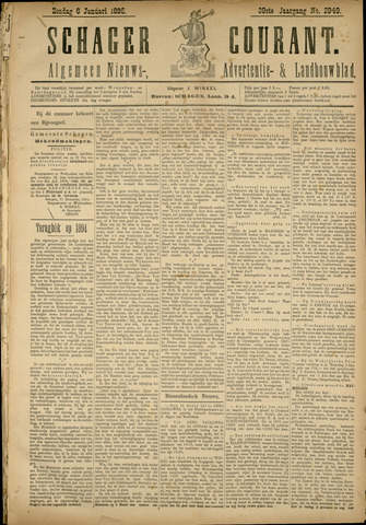 Schager Courant 1895-01-06