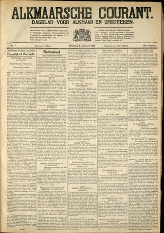 Alkmaarsche Courant 1933-01-03