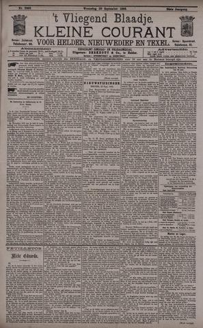 Vliegend blaadje : nieuws- en advertentiebode voor Den Helder 1896-09-23
