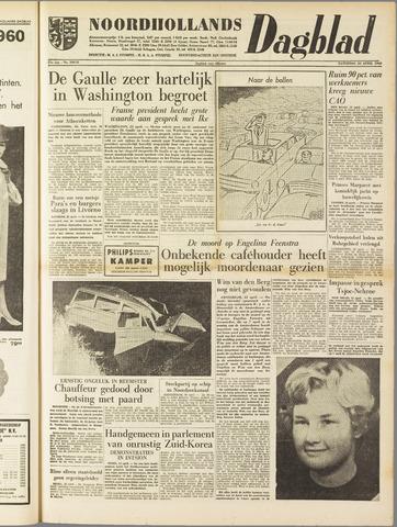 Noordhollands Dagblad : dagblad voor Alkmaar en omgeving 1960-04-23