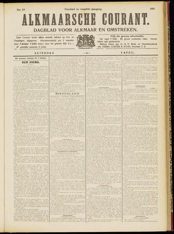 Alkmaarsche Courant 1910-04-09