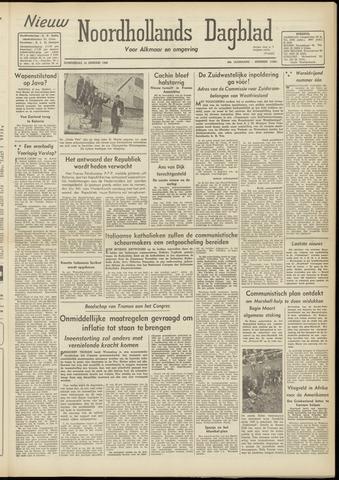 Nieuw Noordhollandsch Dagblad : voor Alkmaar en omgeving 1948-01-15