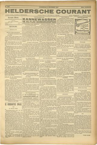 Heldersche Courant 1927-11-03