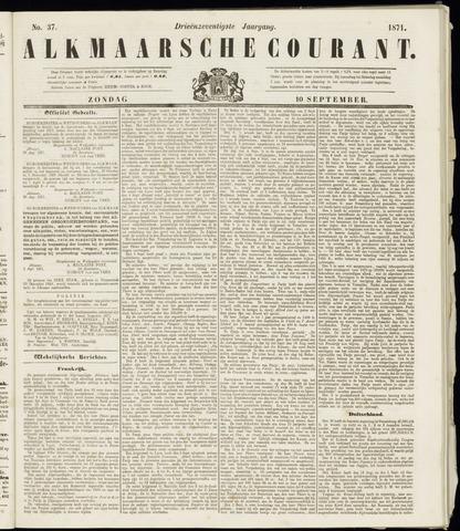 Alkmaarsche Courant 1871-09-10