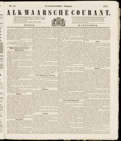 Alkmaarsche Courant 1875-09-26