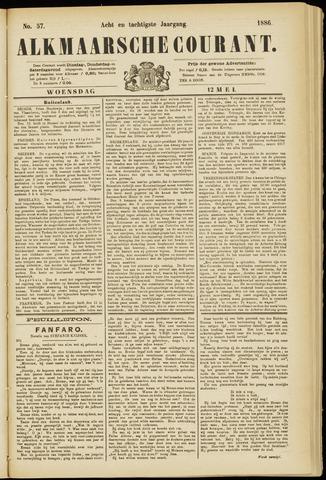 Alkmaarsche Courant 1886-05-12