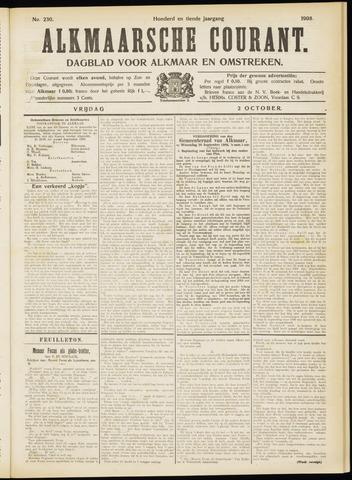 Alkmaarsche Courant 1908-10-02