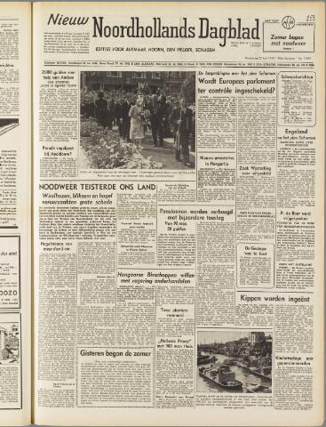 Nieuw Noordhollandsch Dagblad : voor Alkmaar en omgeving 1950-06-22