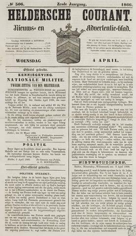 Heldersche Courant 1866-04-04