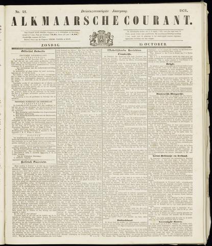 Alkmaarsche Courant 1871-10-15