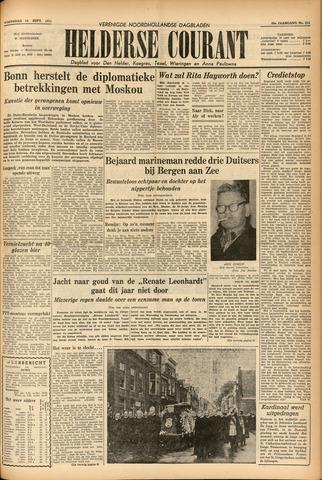 Heldersche Courant 1955-09-14
