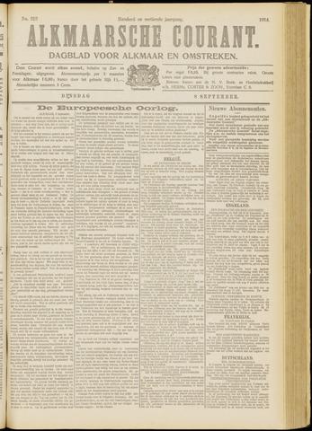 Alkmaarsche Courant 1914-09-08