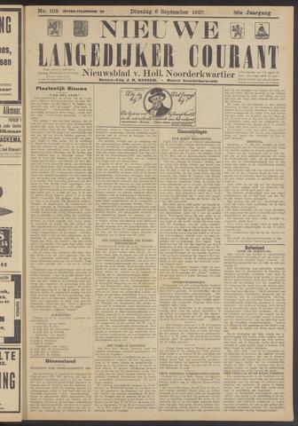 Nieuwe Langedijker Courant 1927-09-06