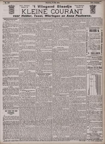Vliegend blaadje : nieuws- en advertentiebode voor Den Helder 1903-05-20