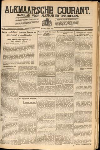 Alkmaarsche Courant 1939-07-17