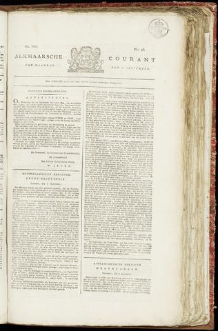 Alkmaarsche Courant 1820-09-11