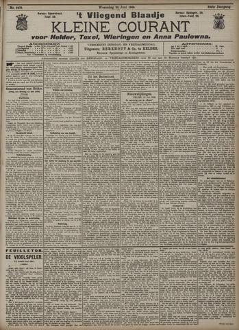 Vliegend blaadje : nieuws- en advertentiebode voor Den Helder 1906-06-20