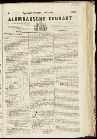 Alkmaarsche Courant 1865-01-01