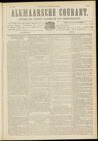 Alkmaarsche Courant 1914-05-02