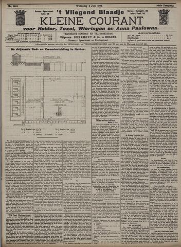 Vliegend blaadje : nieuws- en advertentiebode voor Den Helder 1908-06-03