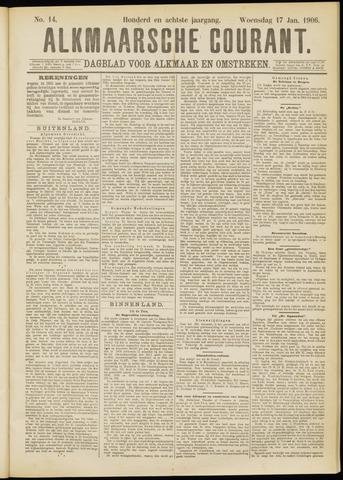 Alkmaarsche Courant 1906-01-17