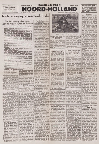 Dagblad Noord-Holland, Schager editie 1943-06-24