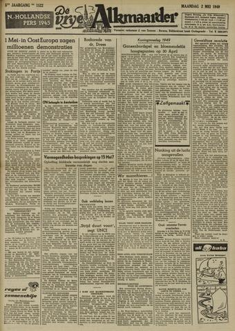 De Vrije Alkmaarder 1949-05-02