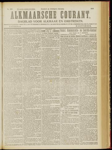 Alkmaarsche Courant 1918-09-28