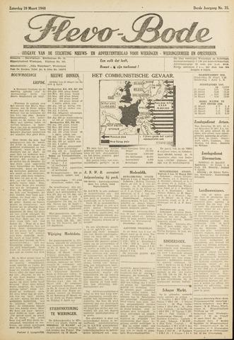 Flevo-bode: nieuwsblad voor Wieringen-Wieringermeer 1948-03-20