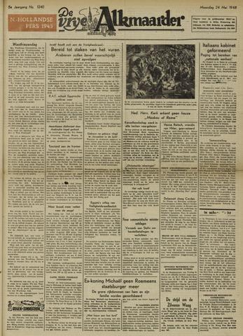 De Vrije Alkmaarder 1948-05-24