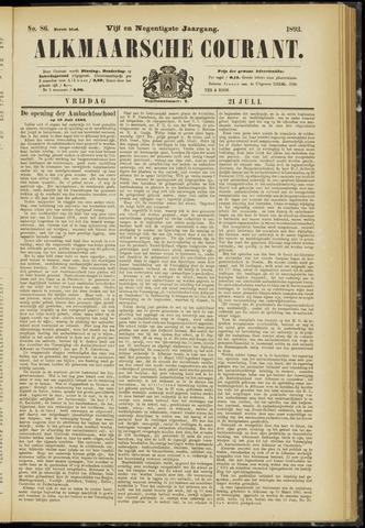Alkmaarsche Courant 1893-07-21