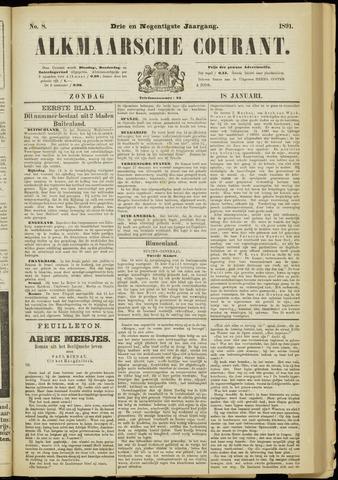 Alkmaarsche Courant 1891-01-18