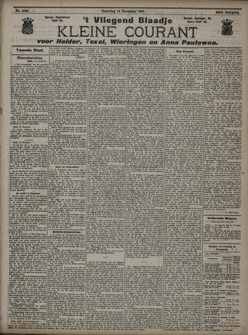 Vliegend blaadje : nieuws- en advertentiebode voor Den Helder 1907-12-14