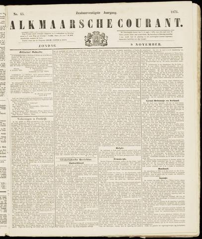 Alkmaarsche Courant 1874-11-08
