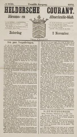 Heldersche Courant 1872-11-02