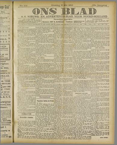 Ons Blad : katholiek nieuwsblad voor N-H 1919-05-06